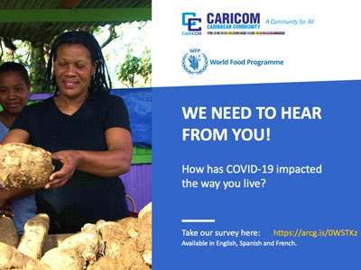 The CARICOM COVID-19 Food Security and Livelihoods Impact Survey – Round 2 can now be accessed